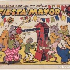 Tebeos: BIBLIOTECA ESPECIAL PARA NIÑOS. FIESTA MAYOR. MARCO 1942. Lote 177253300