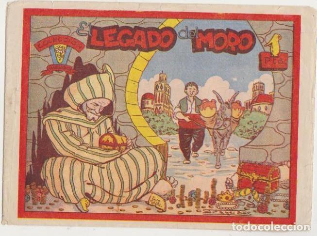 COLECCIÓN MARGARITA. EL LEGADO DEL MORO. FAVENCIA 1951 (Tebeos y Comics - Tebeos Otras Editoriales Clásicas)