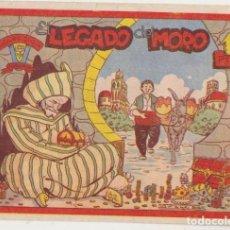 Tebeos: COLECCIÓN MARGARITA. EL LEGADO DEL MORO. FAVENCIA 1951. Lote 177253458