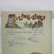 Tebeos: LING - LING, REVISTA MISIONAL ILUSTRADA PARA NIÑOS, Nº 67, SEPTIEMBRE 1949. Lote 177479152