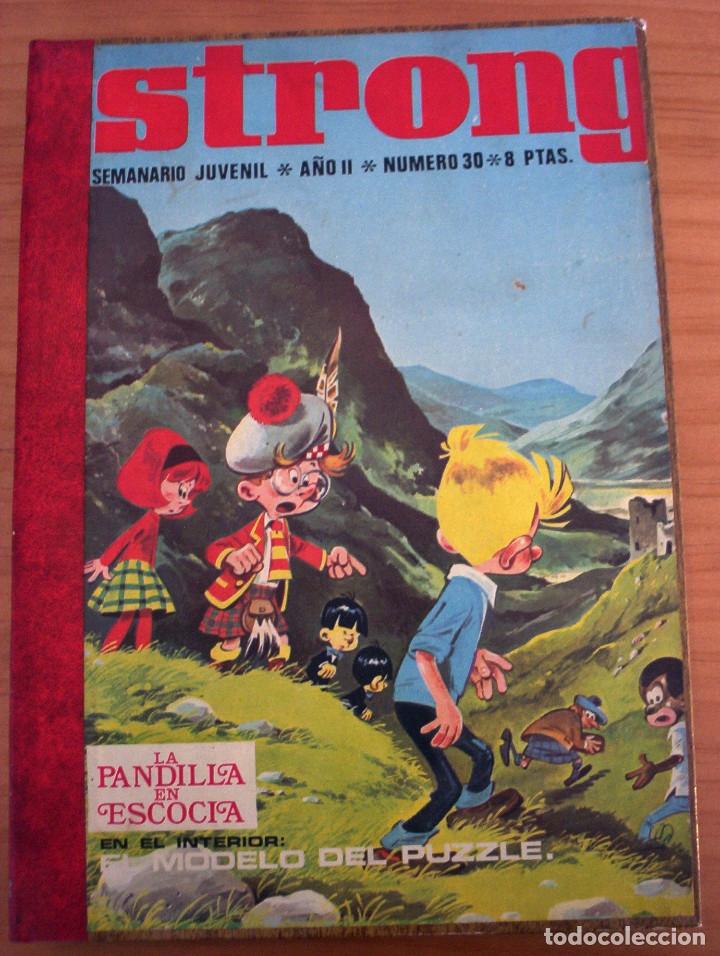 STRONG - TOMO DE 16 NÚMEROS - PERFECTO ESTADO (Tebeos y Comics - Tebeos Otras Editoriales Clásicas)