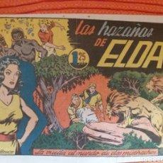 Giornalini: LAS AZAÑAS DE ELDA -LA VUELTA AL MUNDO DE DOS MUCHACHOS-. Lote 177763905