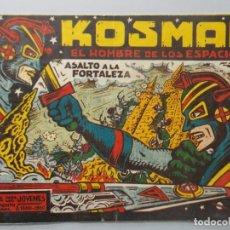 Tebeos: COMIC - KOSMAN EL HOMBRE DE LOS ESPACIOS - Nº 9 - G. IRANZO , AÑO 1960 - ORIGINAL .. L397. Lote 178336033