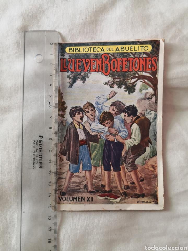 BIBLIOTECA DEL ABUELITO. LLUEVEN BOFETONES. (Tebeos y Comics - Tebeos Clásicos (Hasta 1.939))