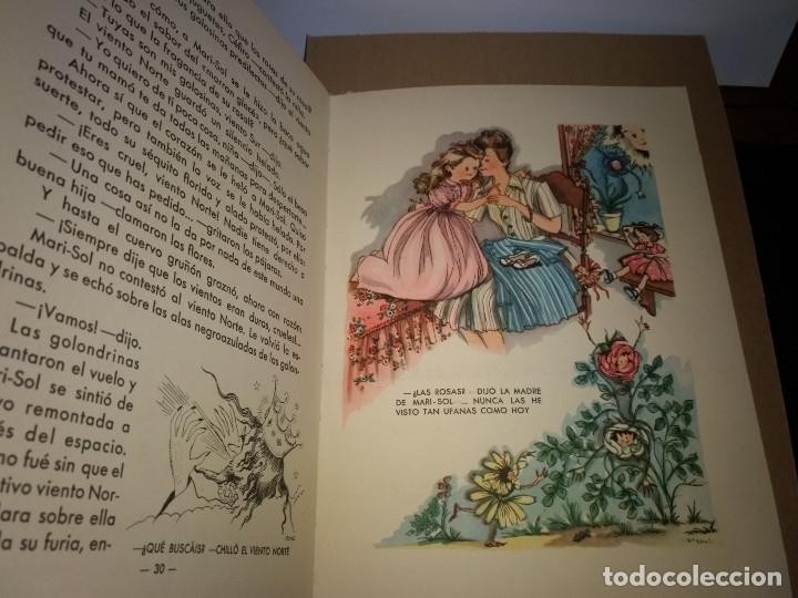 Tebeos: EXTRAORDINARIO CUENTO MARI-SOL EN SU JARDÍN, Ediciones Hymsa, Años 40-50. - Foto 2 - 178622193