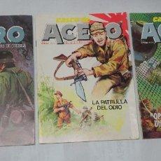 Tebeos: LOTE DE 3 COMICS CASCO DE ACERO, VER FOTOS. Lote 178647097