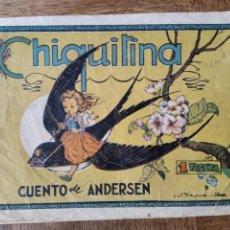 Tebeos: CHIQUITINA. CUENTO DE ANDERSEN. CUADERNOS SELECTOS. EDITORIAL CISNE.. Lote 178959107