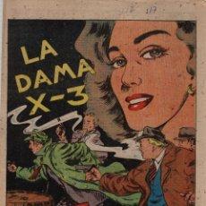 Tebeos: LA DAMA X-3. Nº 517. FLECHAS Y PELAYOS. 12 DE DICIEMBRE DE 1948. Lote 179382133
