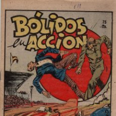 Tebeos: BOLIDOS EN ACCION. Nº 519. FLECHAS Y PELAYOS. 26 DE DICIEMBRE DE 1948. Lote 179382420
