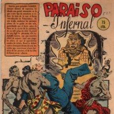 Tebeos: PARAISO INFERNAL. Nº 520. FLECHAS Y PELAYOS. 2 DE ENERO DE 1949. Lote 179382672