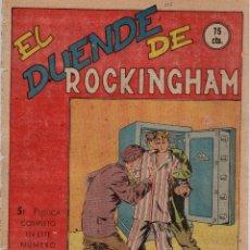Tebeos: EL DUENDE DE ROCKINGHAM. Nº 525. FLECHAS Y PELAYOS. 6 DE FEBRERO DE 1949. Lote 179382927
