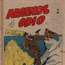 Tebeos: ABISMOS DE ODIO. Nº 516. FLECHAS Y PELAYOS. 5 DE DICIEMBRE DE 1948. Lote 179385347