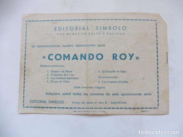 Tebeos: COBALTO Nº 7 EDITORIAL SIMBOLO ORIGINAL - Foto 2 - 179386178