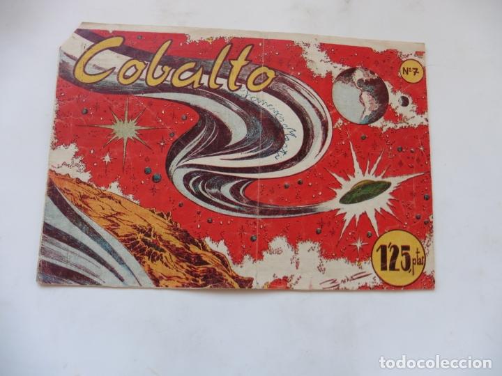 COBALTO Nº 7 EDITORIAL SIMBOLO ORIGINAL (Tebeos y Comics - Tebeos Otras Editoriales Clásicas)