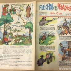 Tebeos: FLECHAS Y PELAYOS. Nº 41. 17 DE SEPTIEMBRE DE 1939. EN CONTRAPORTADA AVILA. CASTILLA LA VIEJA. Lote 179389668