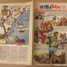 Tebeos: FLECHAS Y PELAYOS. Nº 75. 12 DE MAYO DE 1940. EN CONTRAPORTADA CASTELLON DE LA PLANA. Lote 179389822