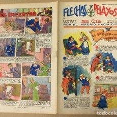 Tebeos: FLECHAS Y PELAYOS. Nº 33. 23 DE JULIO DE 1939.. Lote 179390350