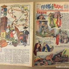 Tebeos: FLECHAS Y PELAYOS. Nº 67. 17 DE MARZO DE 1940. EN CONTRAPORTADA REGION DE LEON, ZAMORA. Lote 179391120