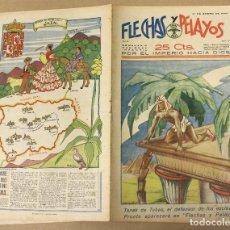 Tebeos: FLECHAS Y PELAYOS. Nº 59. 21 DE ENERO DE 1940. EN CONTRAPORTADA JAEN, REGION DE ANDALUCIA. Lote 179391235