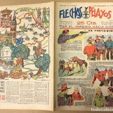 Tebeos: FLECHAS Y PELAYOS. Nº 53. 10 DE DICIEMBRE DE 1939. EN CONTRAPORTADA SEVILLA, REGION DE ANDALUCIA. Lote 179391481
