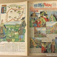 Tebeos: FLECHAS Y PELAYOS. Nº 69. 31 DE MARZO DE 1940. EN CONTRAPORTADA SALAMANCA, REGION DE LEON. Lote 179391611