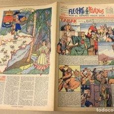 Tebeos: FLECHAS Y PELAYOS. Nº 77. 26 DE MAYO DE 1940. EN CONTRAPORTADA ALICANTE, REGION DE VALENCIA. Lote 179396498