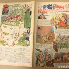 Tebeos: FLECHAS Y PELAYOS. Nº 64. 25 FEBRERO DE 1940. EN CONTRAPORTADA HUESCA, REGION DE ARAGON. Lote 179397458