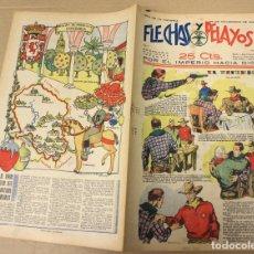 Tebeos: FLECHAS Y PELAYOS. Nº 51. 26 DE NOVIEMBRE DE 1939. EN CONTRAPORTADA CORDOBA, REGION DE ANDALUCIA. Lote 179397646