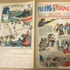 Tebeos: FLECHAS Y PELAYOS. Nº 42. 24 DE SEPTIEMBRE DE 1939. EN CONTRAPORTADA SANTANDER, CASTILLA LA VIEJA. Lote 179398056