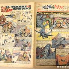 Tebeos: FLECHAS Y PELAYOS. Nº 80. 16 DE JUNIO DE 1940.. Lote 179398588