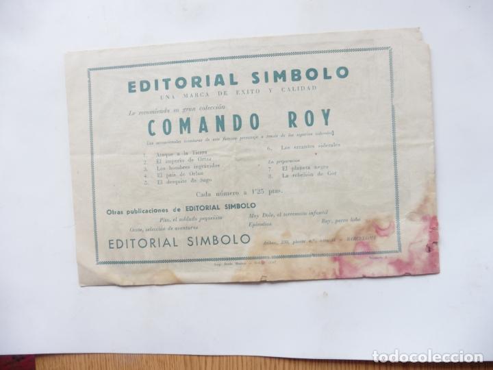 Tebeos: COBALTO Nº 8 EDITORIAL SIMBOLO ORIGINAL - Foto 2 - 180117197