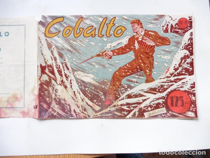 Tebeos: COBALTO Nº 8 EDITORIAL SIMBOLO ORIGINAL - Foto 3 - 180117197