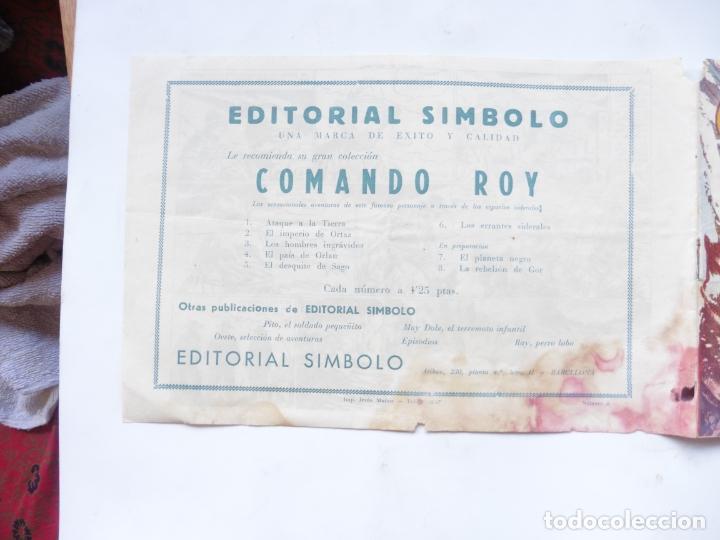 Tebeos: COBALTO Nº 8 EDITORIAL SIMBOLO ORIGINAL - Foto 4 - 180117197