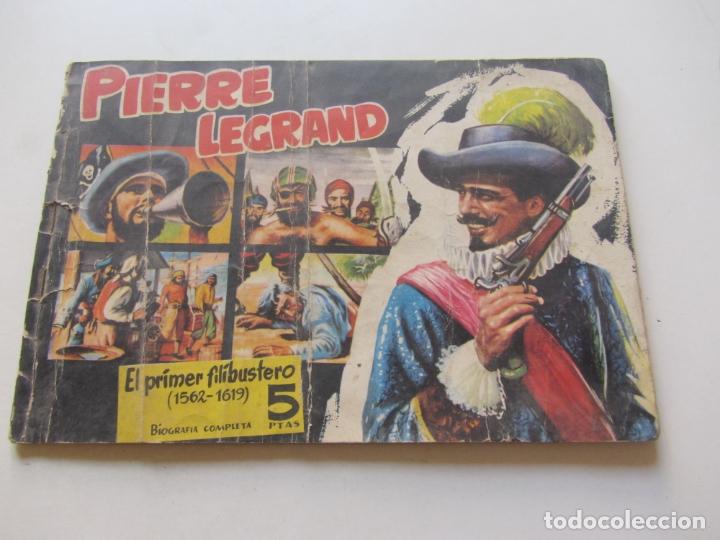 PIRATAS Y CORSARIOS Nº 3.PIERRE LEGRAND. GESTIÓN 1958. CX23 (Tebeos y Comics - Tebeos Otras Editoriales Clásicas)