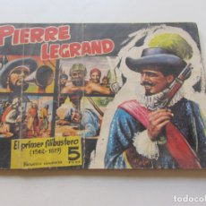 Tebeos: PIRATAS Y CORSARIOS Nº 3.PIERRE LEGRAND. GESTIÓN 1958. CX23. Lote 180218481