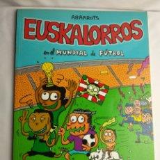 Tebeos: COLECCION TMEO EUSKALORROS EN EL MUNDIAL DE FÚTBOL ¡ LIANDO POLLOS!. Lote 180239373