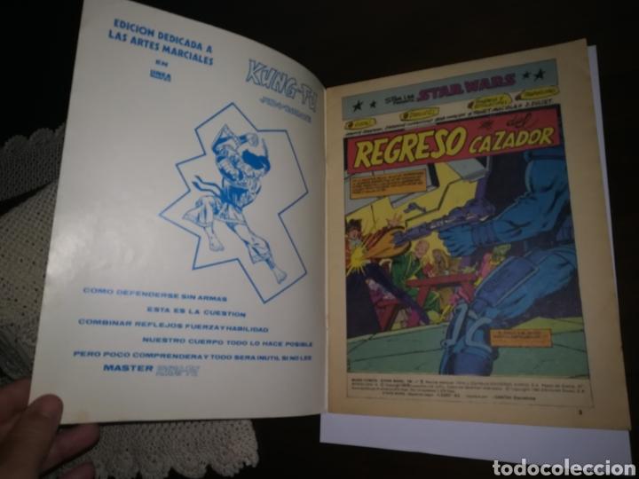 Tebeos: STAR WARS COMIC LINEA 1983 LA GUERRA DE LAS GALAXIAS EDICIONES SURCO REGRESO DEL CAZADOR - Foto 2 - 180278722