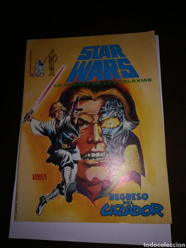 STAR WARS COMIC LINEA 1983 LA GUERRA DE LAS GALAXIAS EDICIONES SURCO REGRESO DEL CAZADOR (Tebeos y Comics - Tebeos Otras Editoriales Clásicas)