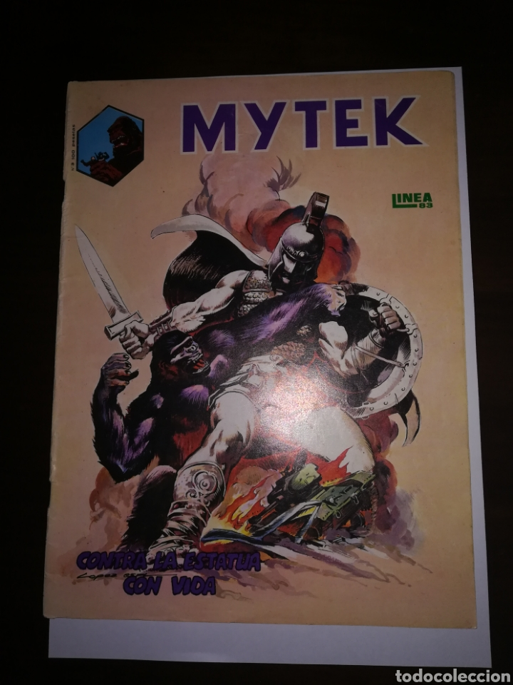 MYTEK CONTRA LA ESTATUA CON VIDA LINEA 83 COMIC EDICIONES SURCO (Tebeos y Comics - Tebeos Otras Editoriales Clásicas)
