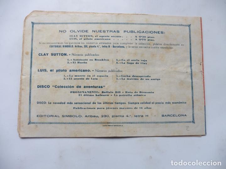 Tebeos: DISCO N º 2 EDITORIAL SIMBOLO ORIGINAL - Foto 2 - 180332861