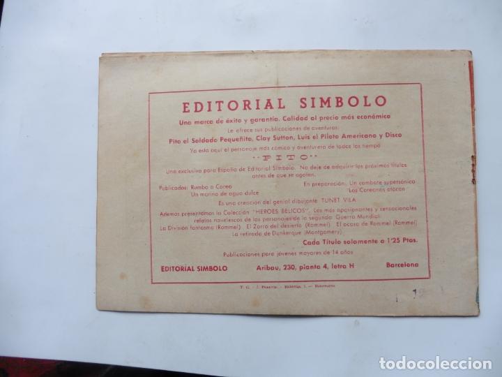Tebeos: DISCO N º 12 EDITORIAL SIMBOLO ORIGINAL - Foto 2 - 180332976