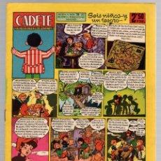 Tebeos: CADETE REVISTA PARA JOVENES. Nº 7. 2,50 PTAS. ORIGINAL. EDITORIAL MATEU, 1959. Lote 180445453