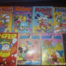 Tebeos: DON MIKI,MICKEY,HIPER DISNEY,PATO DONALD,COMICS,EDITORIAL MONTENA Y EDITORIAL PRIMAVERA. Lote 180495911