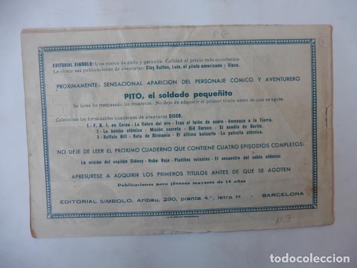 Tebeos: DISCO 16 CUADERNILLOS EDITORIAL SIMBOLO ORIGINAL - Foto 7 - 181028112