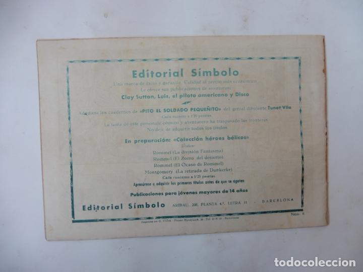 Tebeos: DISCO 16 CUADERNILLOS EDITORIAL SIMBOLO ORIGINAL - Foto 15 - 181028112