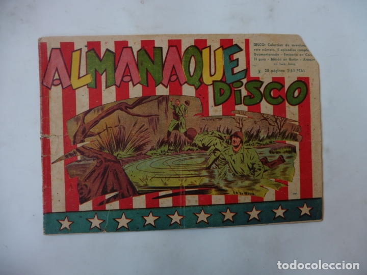 Tebeos: DISCO 16 CUADERNILLOS EDITORIAL SIMBOLO ORIGINAL - Foto 16 - 181028112
