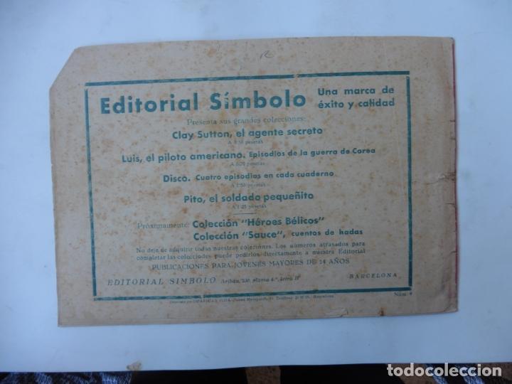 Tebeos: DISCO 16 CUADERNILLOS EDITORIAL SIMBOLO ORIGINAL - Foto 17 - 181028112