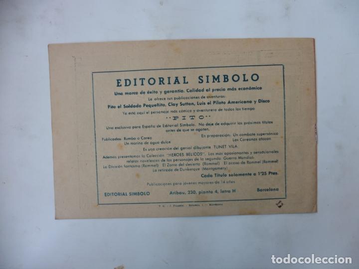 Tebeos: DISCO 16 CUADERNILLOS EDITORIAL SIMBOLO ORIGINAL - Foto 20 - 181028112