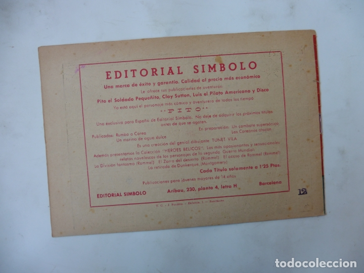 Tebeos: DISCO 16 CUADERNILLOS EDITORIAL SIMBOLO ORIGINAL - Foto 21 - 181028112