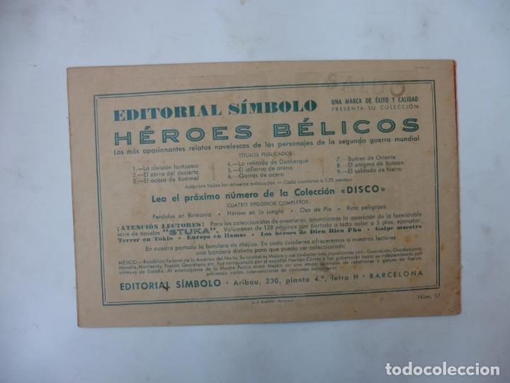 Tebeos: DISCO 16 CUADERNILLOS EDITORIAL SIMBOLO ORIGINAL - Foto 25 - 181028112